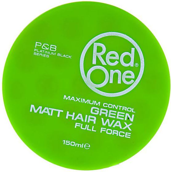 RedOne Haarwax Green Matte Hair Wax 150 ml