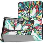 qMust Acer Iconia One 10 B3-A30 Smart Tri-Fold Case - Painted Tree voor Iconia One 10 B3-A30 painted tree