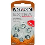 Rayovac Extra Advanced type 312 bruin 6 pak
