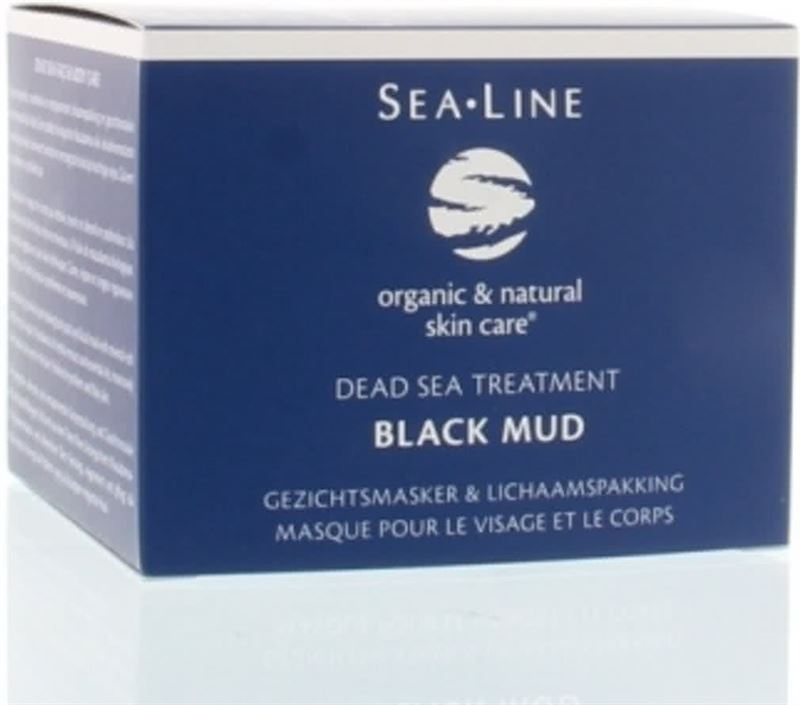 Sea-Line Black Mud Facial Mask And Body Pack