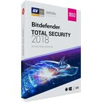 Bitdefender Total Security 2018 - 2 Jaar / 10 Apparaten