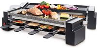 Fritel Foldable Raclette & Stone Grill - FR 2260 - 8pers - 1200W