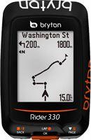 Bryton Rider 330 H GPS oranje/zwart
