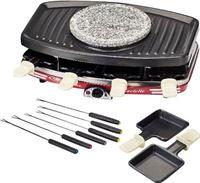 Ariete Raclette 8 Grill Fondue Stone