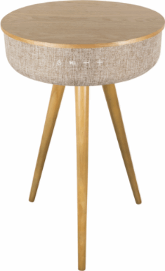 Salora AirTable (AW) beige, hout