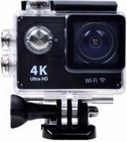 Lipa AT-4K Ultra HD action camera WIFI met SD-kaart 16 GB