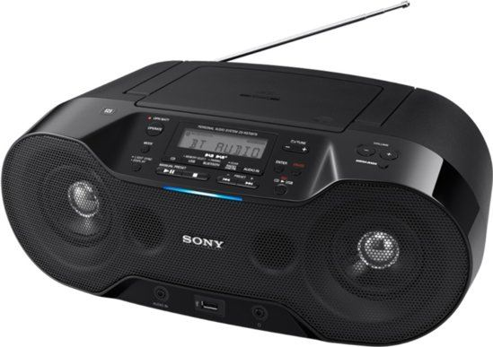 Sony ZS-RS70BT zwart