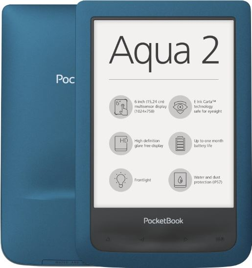 pocketbook aqua 2 turkoois
