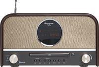 Soundmaster NR850BR DAB+ radio, CD speler met bluetooth, MP3 en USB
