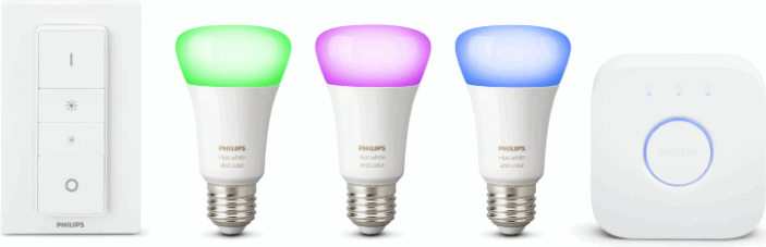 Philips Hue White and Color Starterkit E27
