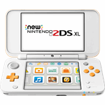 Nintendo New 2DS XL oranje, wit