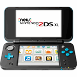 Nintendo New 2DS XL zwart, blauw