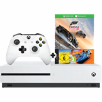 Microsoft Xbox One S 1TB + Forza Horizon 3 & Hot Wheels zwart, wit