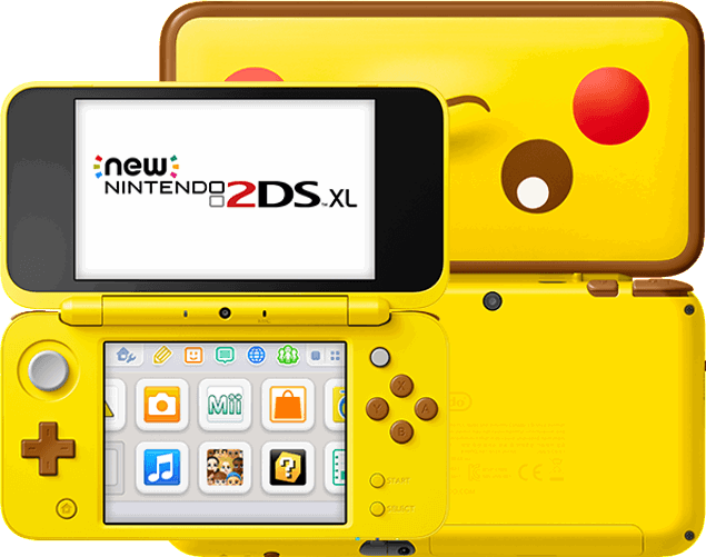 Nintendo New 2DS XL - Pikachu Edition 4GB / geel
