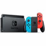 Nintendo Switch Console zwart, blauw, rood