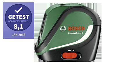 Bosch kruislijnlasers – getest door het testpanel