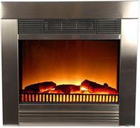 Classic fire Elektrische inbouw-sfeerhaard Chicago RVS