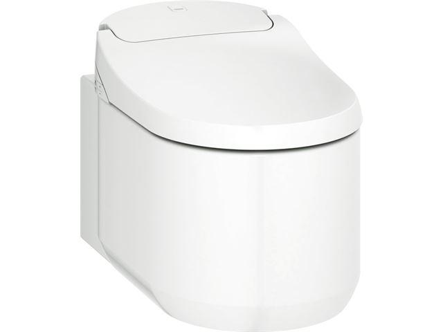Toilet Met Sproeier : Badkamer winkelonline mueller basic toilet met sproeier cm