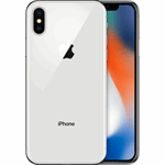 Apple iPhone X zilver / 256 GB