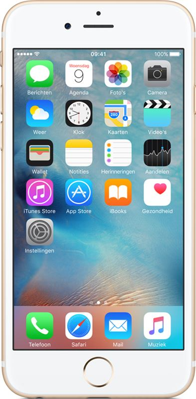 Apple iPhone 6s 32 GB / goud