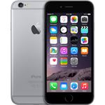 FORZA refurbished Apple iPhone 6 Zwart 64gb - B grade 64 GB / grijs / refurbished