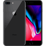 Apple iPhone 8 Plus grijs / 256 GB