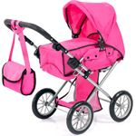 Bayer poppenwagen City Star - 72 cm - roze