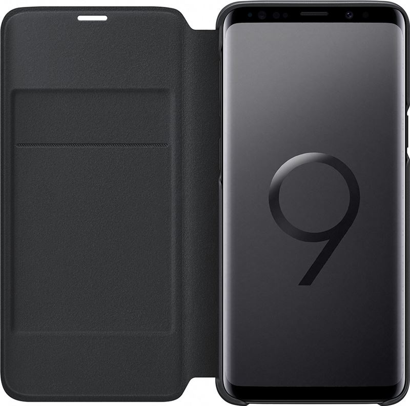 Samsung Galaxy S9 Plus Led View Cover Zwart voor Galaxy S9 Plus zwart