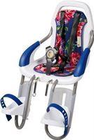 Qibbel ToGo - Fietsstoeltje Voor - Stuurpen bevestiging - white/Blossom Roses Blue