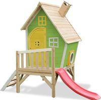 Exit Fantasia 300 houten speelhuis - groen