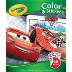 crayola Kleur- en stickerboek Disney Cars 3