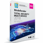 Bitdefender Total Security Multi-Device - 1 Jaar / 5 Apparaten