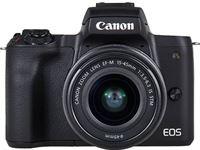 Canon EOS M50 + EF-M 15-45mm f/3.5-6.3 IS STM + EF-M 55-200mm f/4.5-6.3 IS STM
