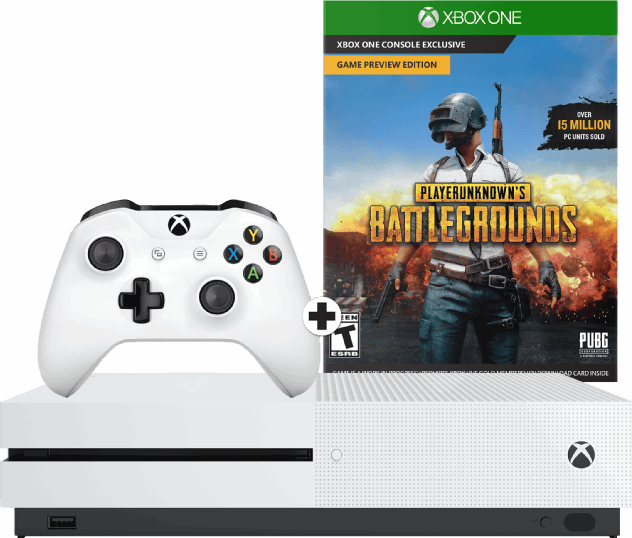 Microsoft Xbox One S 1TB + PUBG Player Unknowns Battlegrounds wit