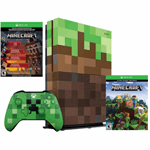 Microsoft Xbox One S 1TB Minecraft Limited Edition wit