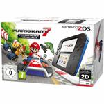 Nintendo 2DS + Mario Kart 7 zwart, blauw