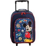 Disney Mickey Mouse Kindertrolley navy Blauw
