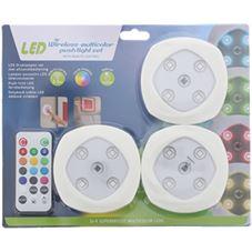 Trend Accessoires Druklampen Set met Afstandsbediening Led Draadloos ...