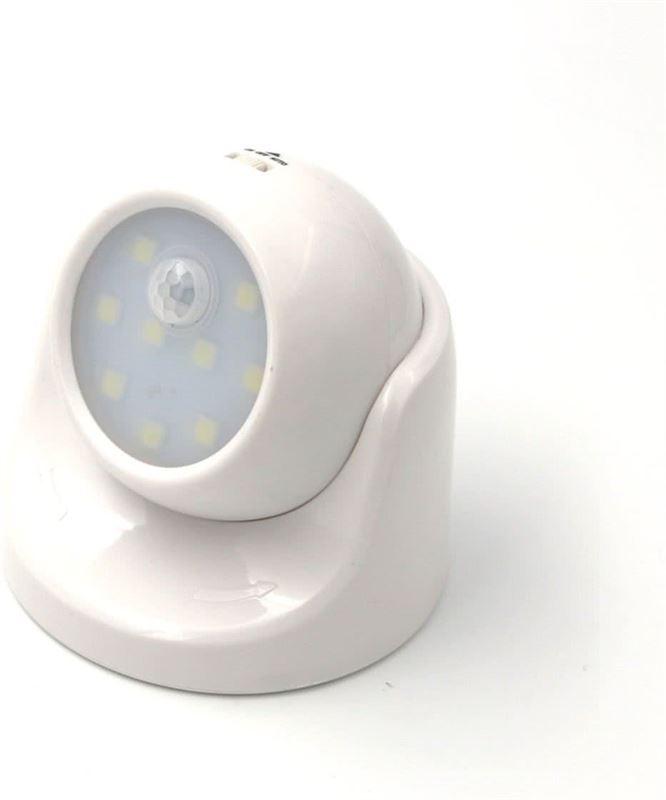 trend accessoires draadloos led sensor lamp met 40 lumen 100 x 360 graden rotatie