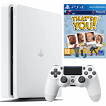 Sony PlayStation 4 Slim 500GB + That's You (Voucher) wit