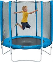 Plum Junior Trampoline - 140 cm - Inclusief Veiligheidsnet - Blauw
