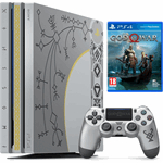 Sony PlayStation 4 Pro 1TB + God of War Standard Plus Editie zilver