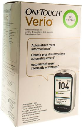 OneTouch One Touch Verio Glucosemeter