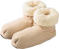 Warmies Slippies comfort maat 37 41 beige 1 st