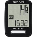 Sigma Sport BC 5.16 draadloze fietscomputer zwart