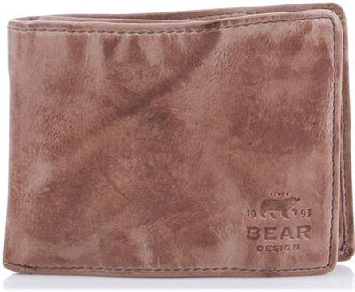 Bear Design Portemonnee.Bear Design Bear Design Cow Lavato Raga Portemonnee 14966 Hazelnut