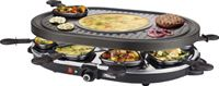 Princess 162700 Raclette 8 Oval Grill Party