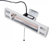 Beliani Elektrische terrasverwarming met handvat - terrasstraler - halogeenstraler - muur - FUEGO