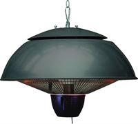 Garden Impressions - Bordeaux - hangende heater - 43CM - royal grey - 1500W