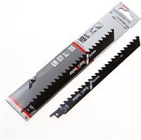 Bosch Reciprozaagblad fiber and plaster S 1141 HM 225mm blister van 2 bladen
